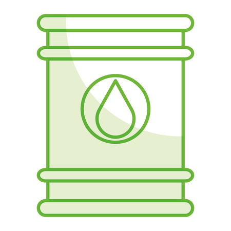 oil barrel isolated icon vector illustration design Illustration