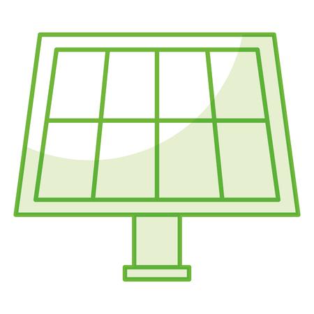 Panel słoneczny izolowane wektor ikona projektowania ilustracji