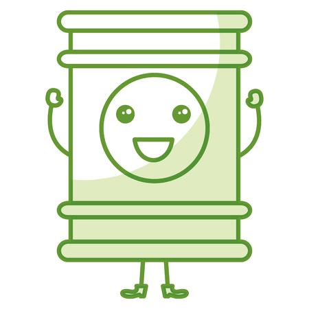 oil barrel isolated icon vector illustration design Illusztráció