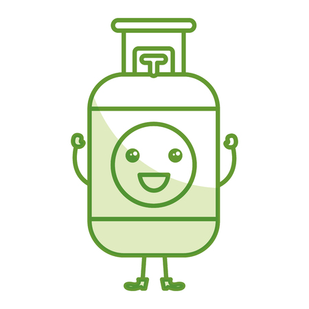 butane: Propane gas tank icon vector illustration design