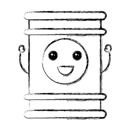 oil barrel isolated icon vector illustration design 向量圖像