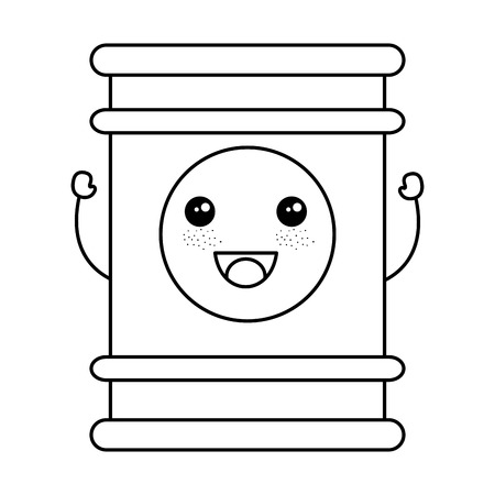 oil barrel isolated icon vector illustration design Stock Photo