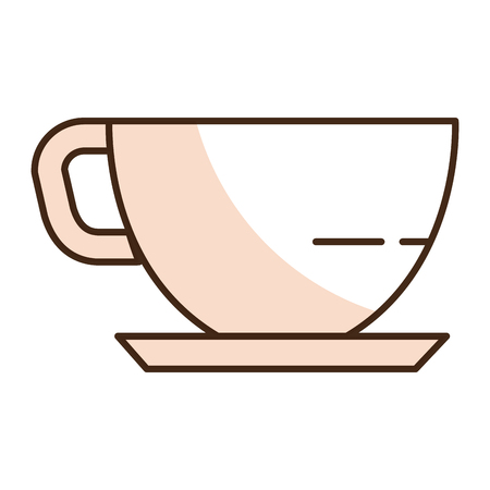 coffee cup isolated icon vector illustration design Ilustrace