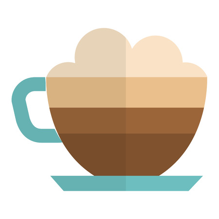 coffee cup isolated icon vector illustration design Иллюстрация