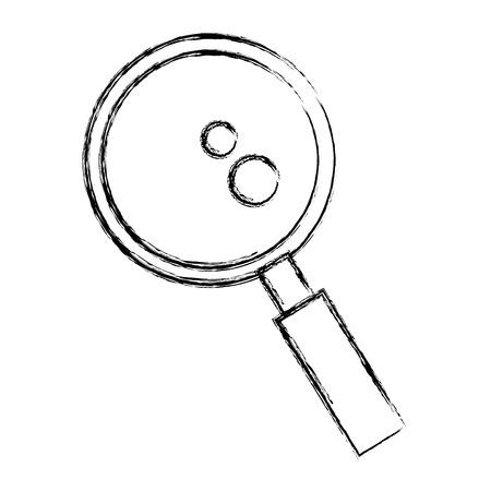 虫眼鏡アイコン ベクトル イラスト デザインを検索します。