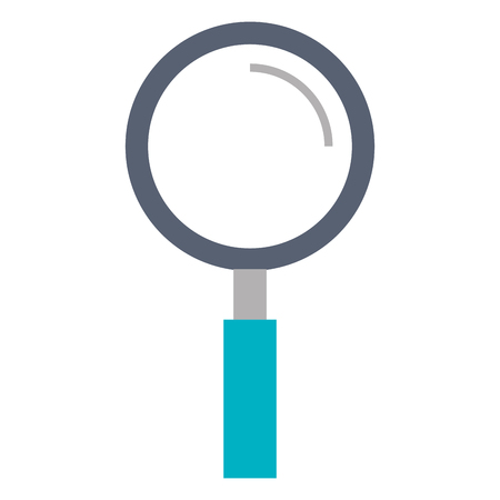 inspect: search magnifying glass icon vector illustration design