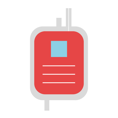 donate blood bag isolated icon vector illustration design Stock fotó - 81675262