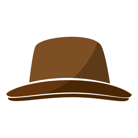 vintage hat accesory icon vector illustration graphic design