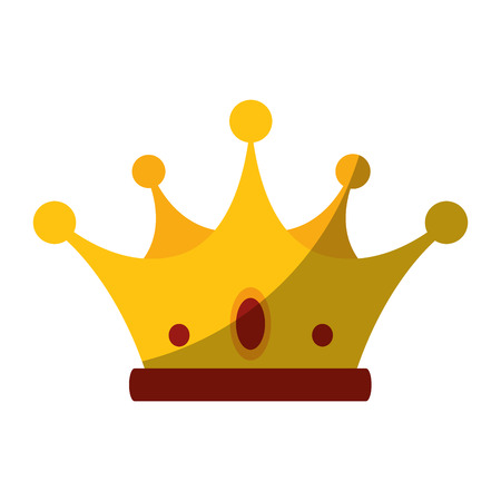 Luxury king crown icon vector illustration graphic design Stock Vector - 81726111