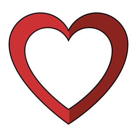 장식 심장 기호 아이콘 벡터 일러스트 그래픽 디자인 일러스트
