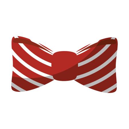 bow tie fashion icon vector illustration graphic design