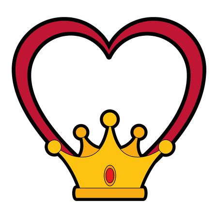 Luxury king crown icon vector illustration graphic design Stock fotó - 81725079