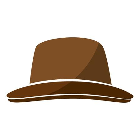 빈티지 모자 액세서리 아이콘 벡터 일러스트 그래픽 디자인