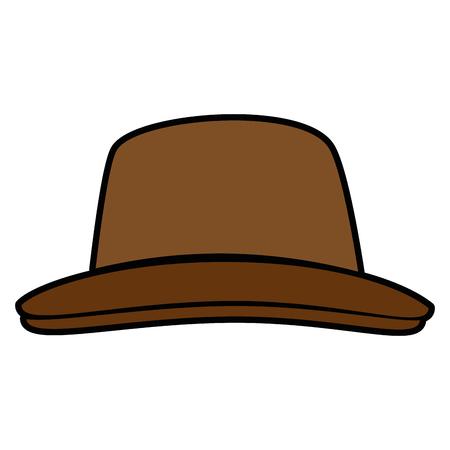 ヴィンテージ帽子アクセサリー アイコン ベクトル イラスト グラフィック デザイン  イラスト・ベクター素材