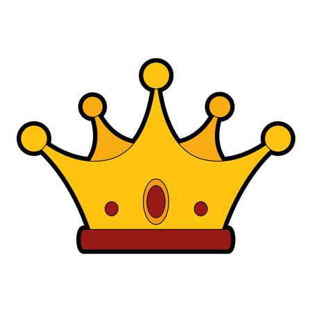Luxury king crown icon vector illustration graphic design Reklamní fotografie - 81725095