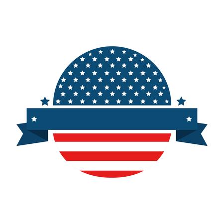 zegel stempel met usa land vlag pictogram vector illustratie grafisch ontwerp