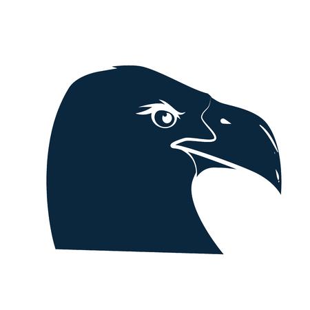 アメリカン ・ イーグルのシンボル アイコン ベクトル イラスト グラフィック デザイン  イラスト・ベクター素材