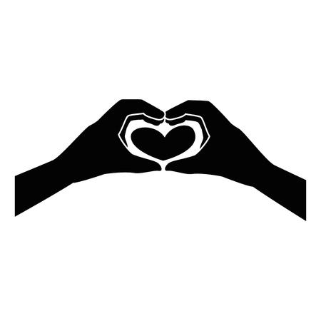 Human hand symbol icon Illustration vectorielle design graphique Banque d'images - 81726330