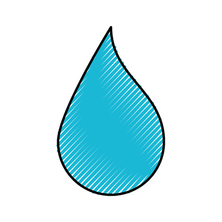 Drop paint picture icon vector illustration design graphic Ilustração