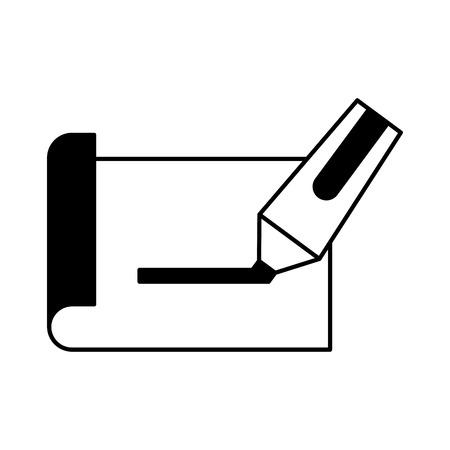 Blatt zeichnen Ideen Symbol Vektor-Illustration Design Grafik Standard-Bild - 81798295