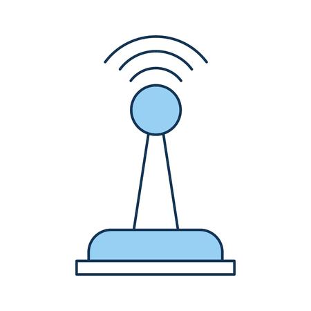 A Drone remote control icon vector illustration design Ilustração