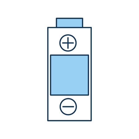 A battery power isolated icon vector illustration design. Çizim