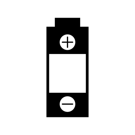 バッテリ電源分離アイコン ベクトル イラスト デザイン 写真素材 - 81798110
