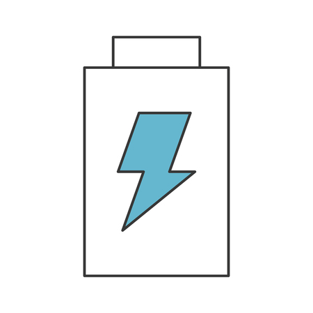 A battery power isolated icon vector illustration design. Illustration