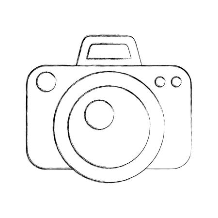 capturing: camera photographic isolated icon vector illustration design
