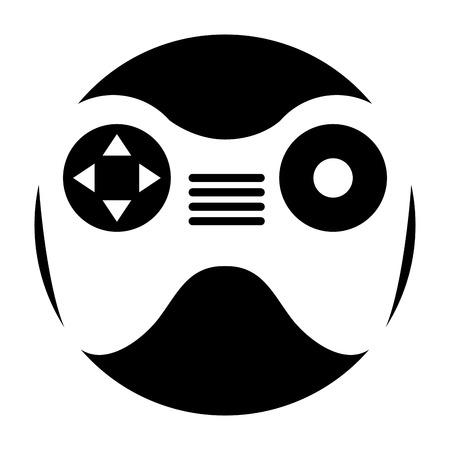 airborne: Drone remote control icon vector illustration design
