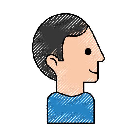 Man vector illustration design Illustration