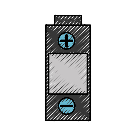 battery power isolated icon vector illustration design