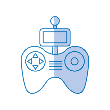 Drone remote control icon vector illustration design