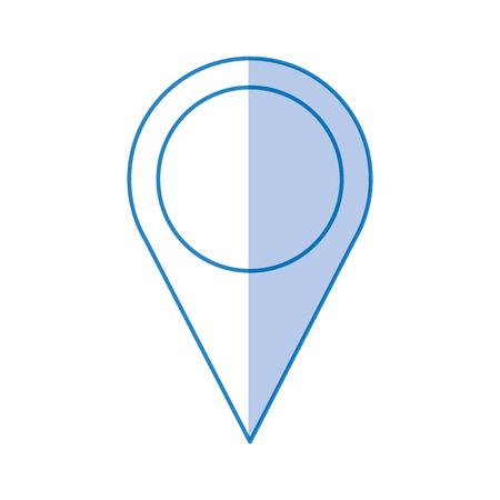 ピン ポインターの場所アイコン ベクトル イラスト デザイン  イラスト・ベクター素材