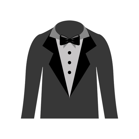 male wedding dress icon vector illustration design Ilustração