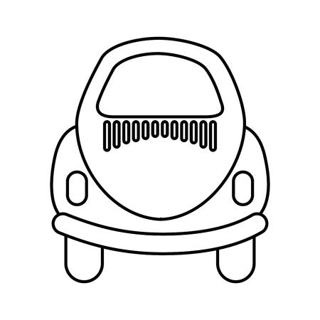 車のアイコン ベクトル イラスト デザインの背面 写真素材 - 81814358