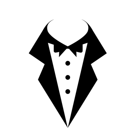 hombre vestido de boda icono de diseño de ilustración vectorial Ilustración de vector