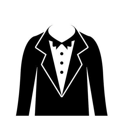 male wedding dress icon vector illustration design Фото со стока - 81814435