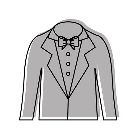 male wedding dress icon vector illustration design Фото со стока - 81814846