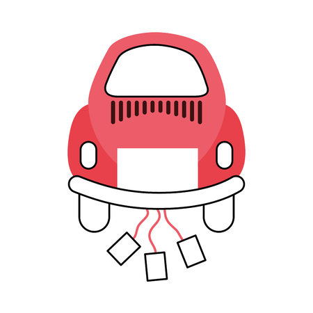 Car of newlyweds icon vector illustration design Banco de Imagens - 81814644