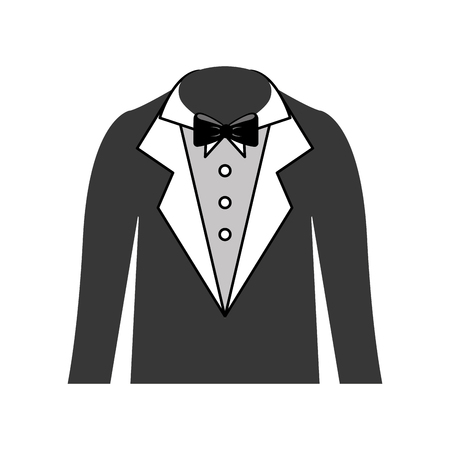 男性の結婚式のドレスのアイコン ベクトル イラスト デザイン  イラスト・ベクター素材