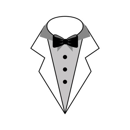 male wedding dress icon vector illustration design Ilustracja