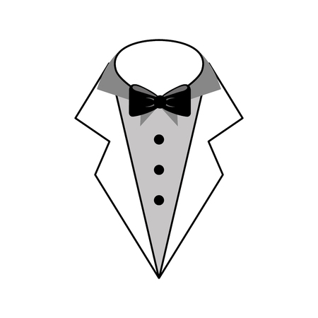 male wedding dress icon vector illustration design Illustration
