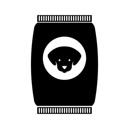 마스코트 음식 가방 아이콘 벡터 일러스트 레이 션 디자인 스톡 콘텐츠 - 81844611