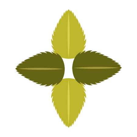 tea leafs product emblem vector illustration design Stock Vector - 81845977