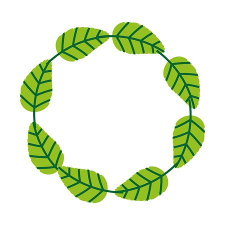 tea leafs product emblem vector illustration design Stock Vector - 81846245