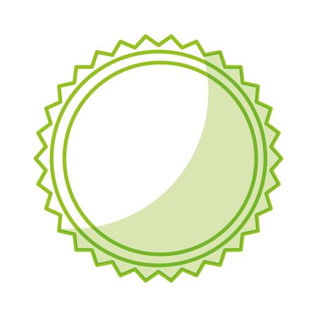 Tee Blätter Produkt Emblem Vektor-Illustration Design