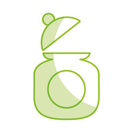Zucker Topf isoliert Symbol Vektor-Illustration Design Standard-Bild - 81846296