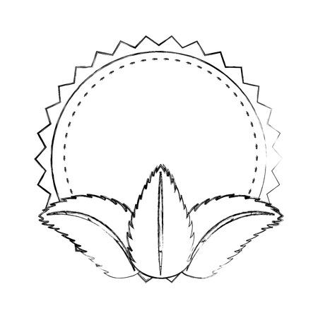 tea leafs product icon vector illustration design Stock Vector - 81846515