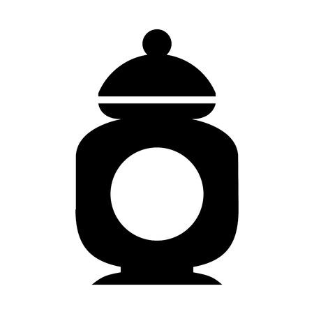 シュガー ポット分離アイコン ベクトル イラスト デザイン